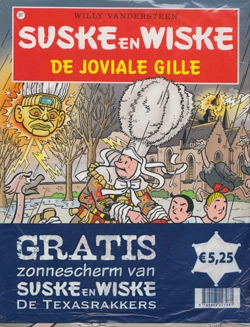 Suske en Wiske softcover nummer: 297 + Zonnescherm.