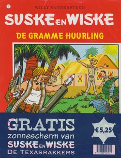Suske en Wiske softcover nummer: 82 + Zonnescherm.