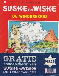Suske en Wiske softcover nummer: 179 + Zonnescherm.