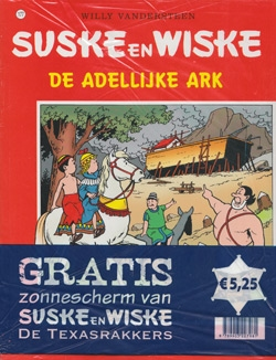 Suske en Wiske softcover nummer: 177 + Zonnescherm.
