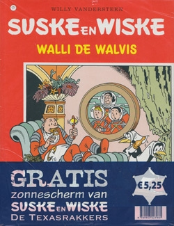 Suske en Wiske softcover nummer: 171 + Zonnescherm.