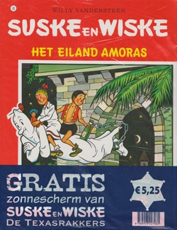Suske en Wiske softcover nummer: 68 + Zonnescherm.
