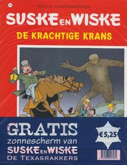 Suske en Wiske softcover nummer: 218 + Zonnescherm.