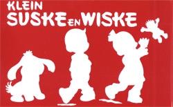 Klein Suske en Wiske overtrekkaart.