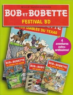 Franse groene softcover Festival bd (LIDL).