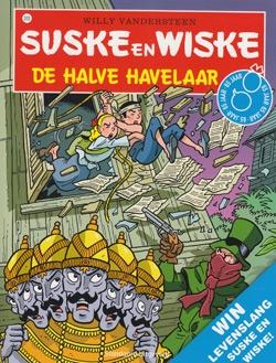 Suske en Wiske softcover nummer: 310. Hertekende cover.