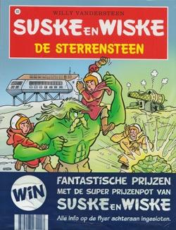 Suske en Wiske softcover nummer: 302 + Wedstrijdformulier.