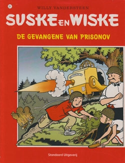 Suske en Wiske softcover nummer: 281. (licht) beschadigd.