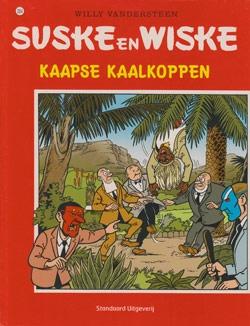 Suske en Wiske softcover nummer: 284. (licht) beschadigd.