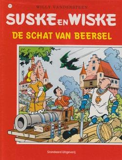 Suske en Wiske softcover nummer: 111. Oude cover.