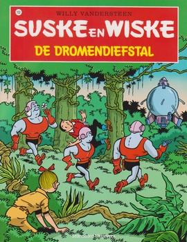 Suske en Wiske softcover nummer: 102. Hertekende cover.
