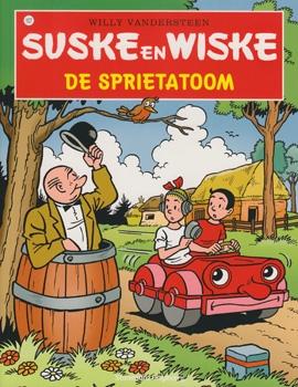 Suske en Wiske softcover nummer: 107. Hertekende cover.