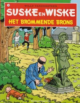 Suske en Wiske softcover nummer: 128. Hertekende cover.