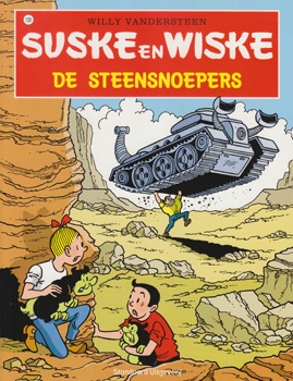 Suske en Wiske softcover nummer: 130. Hertekende cover.