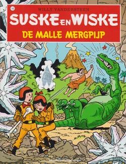 Suske en Wiske softcover nummer: 143. Hertekende cover.