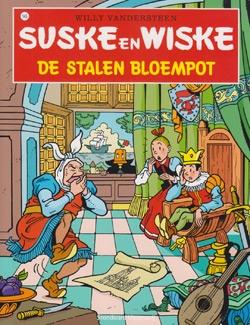 Suske en Wiske softcover nummer: 145. Hertekende cover.