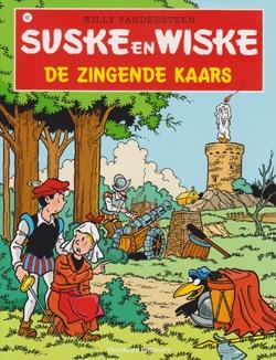 Suske en Wiske softcover nummer: 167. Hertekende cover.