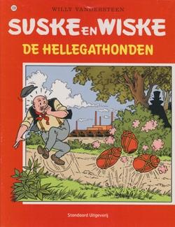 Suske en Wiske softcover nummer: 208. Oude cover.