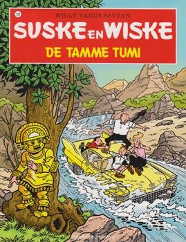 Suske en Wiske softcover nummer: 199. Hertekende cover.