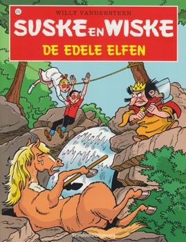 Suske en Wiske softcover nummer: 212. Hertekende cover.