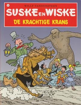 Suske en Wiske softcover nummer: 218. Hertekende cover.