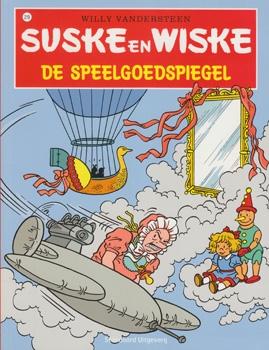 Suske en Wiske softcover nummer: 219. Hertekende cover.