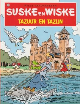 Suske en Wiske softcover nummer: 229. Hertekende cover.