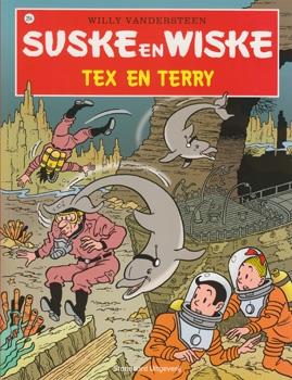 Suske en Wiske softcover nummer: 254. Hertekende cover.