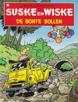 Suske en Wiske softcover nummer: 260. Hertekende cover.