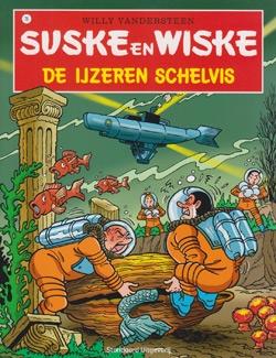 Suske en Wiske softcover nummer: 76. Hertekende cover.