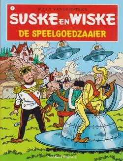 Suske en Wiske softcover nummer: 91. Hertekende cover.