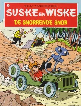 Suske en Wiske softcover nummer: 93. Hertekende cover.