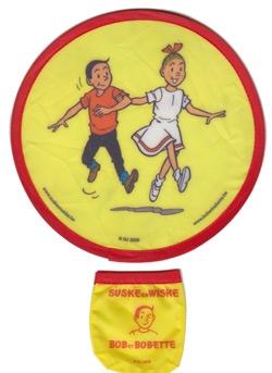 Suske en Wiske Frisbee GEEL.