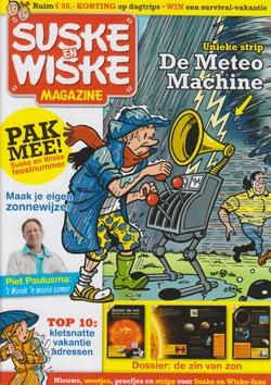 Suske en Wiske Magazine / De Meteo Machine.