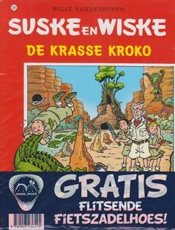 Suske en Wiske softcover nummer: 295 + Fietszadelhoes