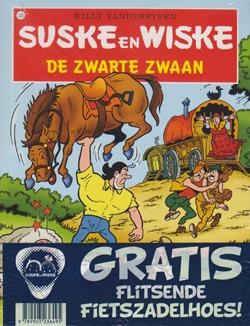 Suske en Wiske softcover nummer: 123 + Fietszadelhoes