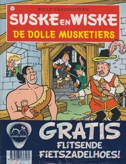 Suske en Wiske softcover nummer: 89 + Fietszadelhoes.