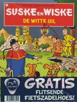 Suske en Wiske softcover nummer: 134 + Fietszadelhoes