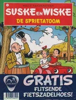 Suske en Wiske softcover nummer: 107 + Fietszadelhoes