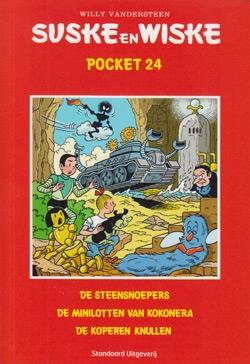 Suske en Wiske Pocket nummer: 24.