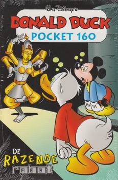 Donald Duck pocket softcover nummer: 160.