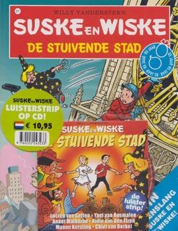 Suske en Wiske softcover nummer: 311 met cd Hertekende cover