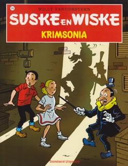 Suske en Wiske softcover nummer: 316. Hertekende cover.