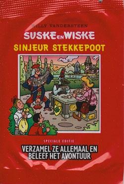 Sinjeur Stekkepoot stickers.