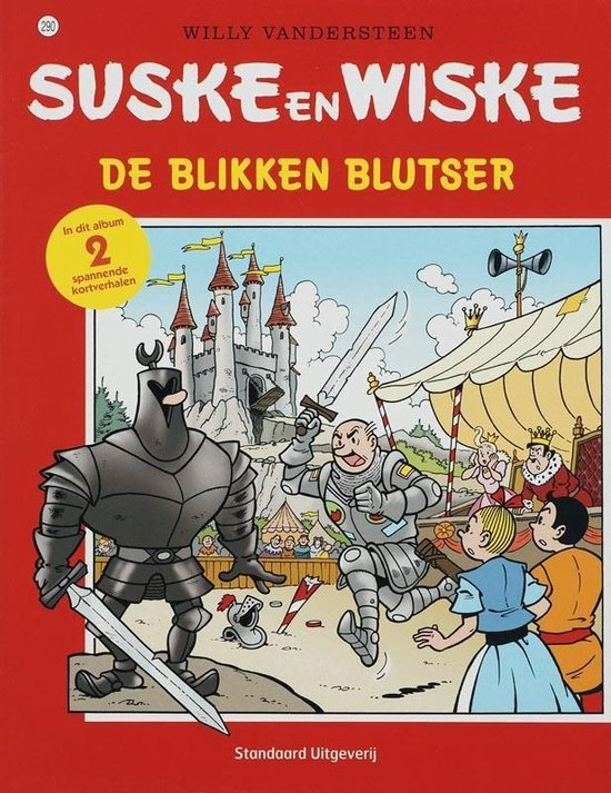 Suske en Wiske softcover nummer: 290. Oude cover.