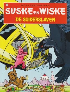 Suske en Wiske softcover nummer: 318. Hertekende cover.