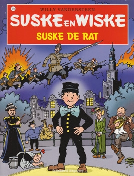 Suske en Wiske softcover nummer: 319. Hertekende cover.