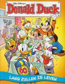 Softcover Donald Duck 60 Lang zullen ze leven.
