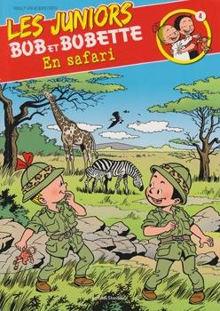 Les Juniors Bob et Bobette softcover (Franstalig) nummer: 4.