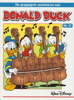 """Donald Duck """"De grappigste avonturen"""" softcover nummer: 17."""